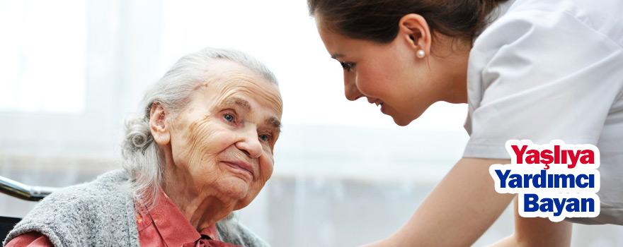 Yaşlıya Yardımcı Bayan