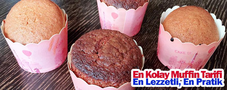 En kolay muffin tarifi ? Muffin nasıl yapılır ? En güzel muffin tarifi ?