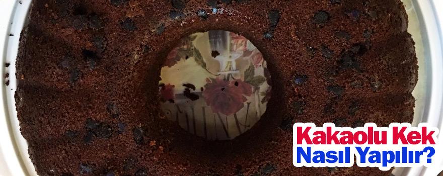 Kakaolu kek nasıl yapılır ?